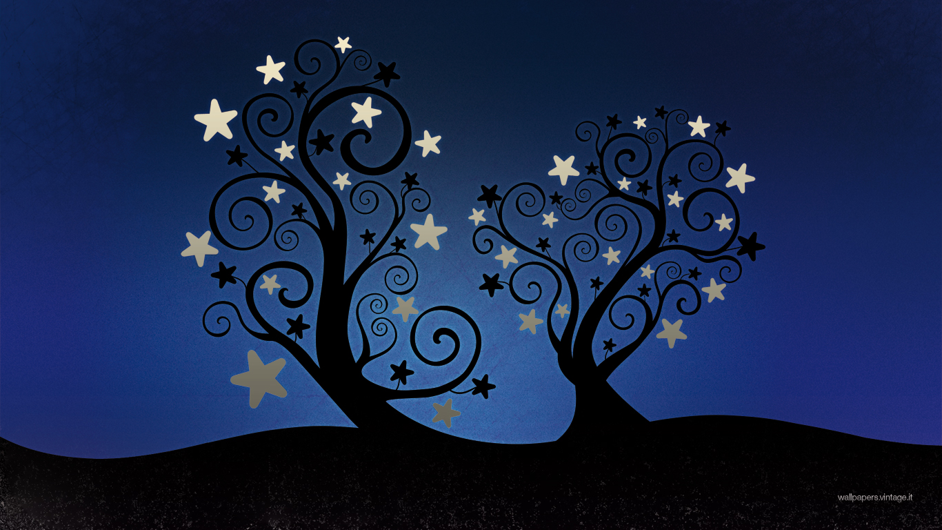 Ipad Christmas Wallpaper Hd: Christmas Starleaves Wallpaper