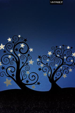 Christmas Starleaves Wallpaper