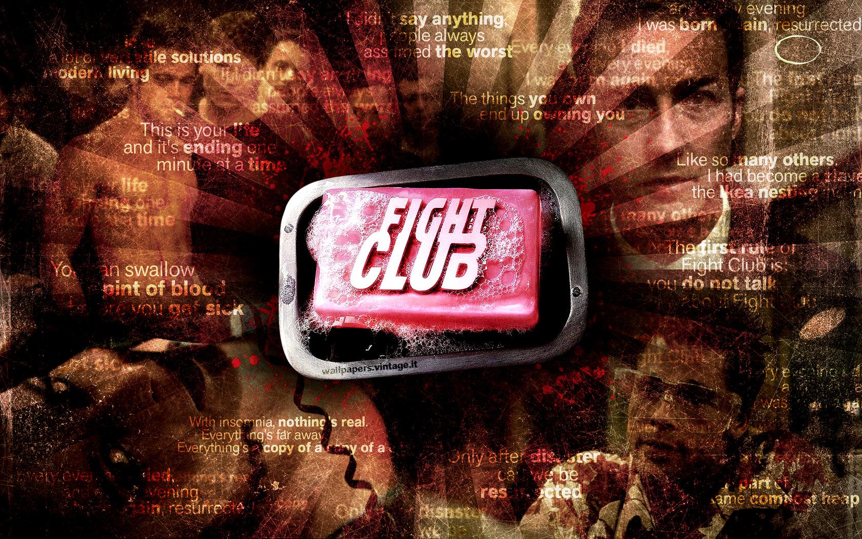 Fight Club wallpaper - Free Desktop HD iPad iPhone wallpapers Tylerdurden