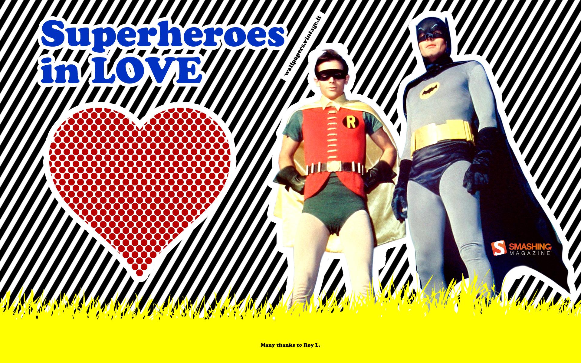 Superheroes In Love
