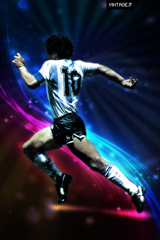 Diego Armando Maradona Iphone Wallpaper Free Desktop Hd Ipad Iphone Wallpapers