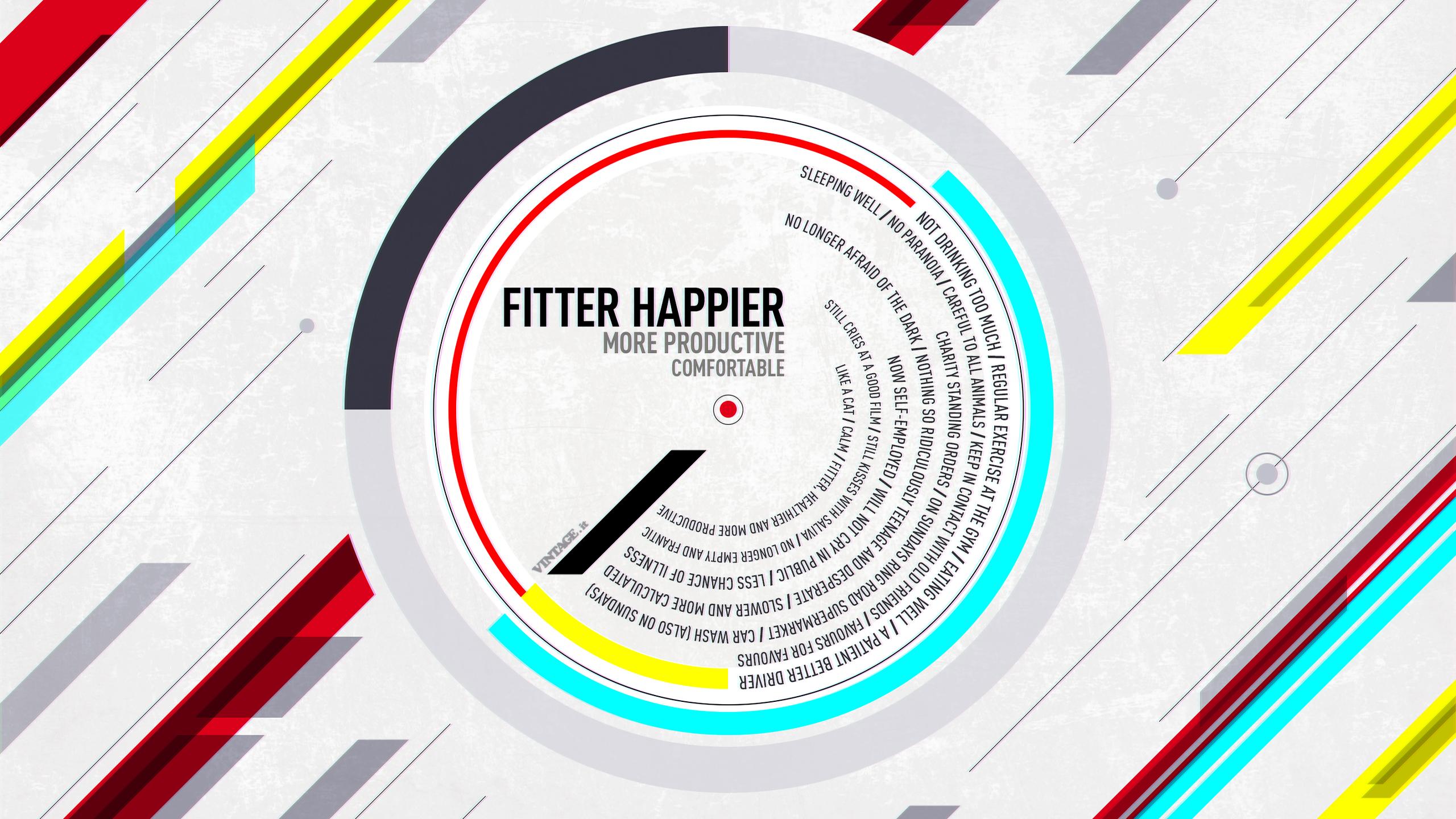 Fitter happier radiohead wallpaper free desktop hd ipad iphone 1920x1080 voltagebd Choice Image