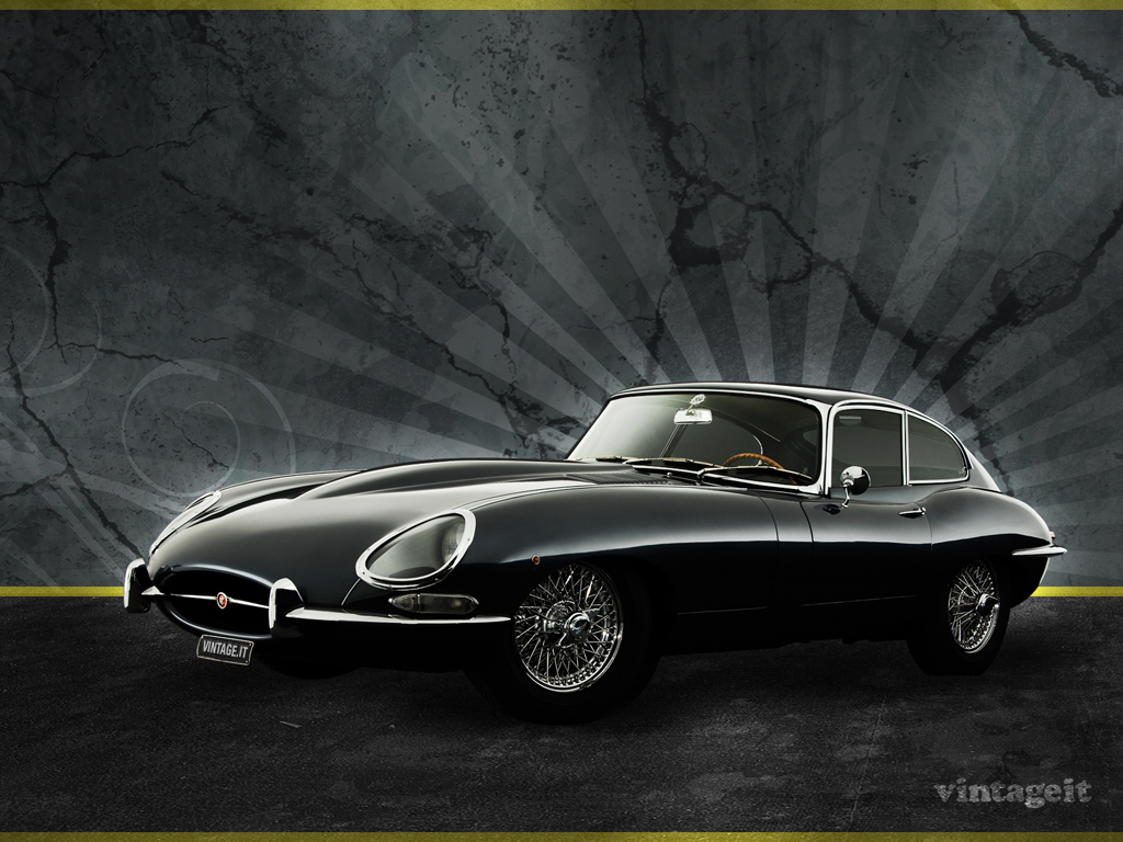 Jaguar E-type wallpaper - Free Desktop HD iPad iPhone ...