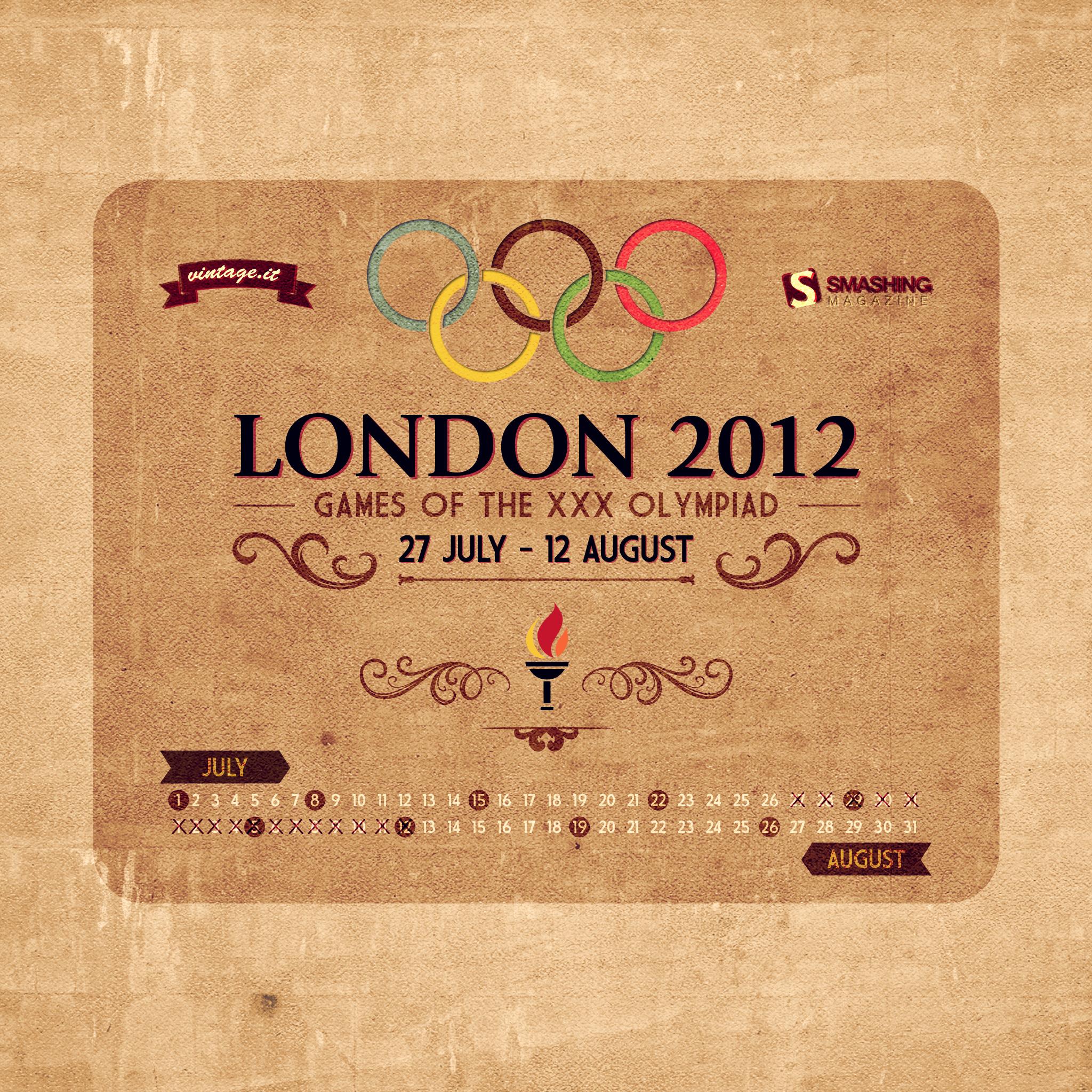 Vintage Iphone Wallpaper: London 2012 Olympics