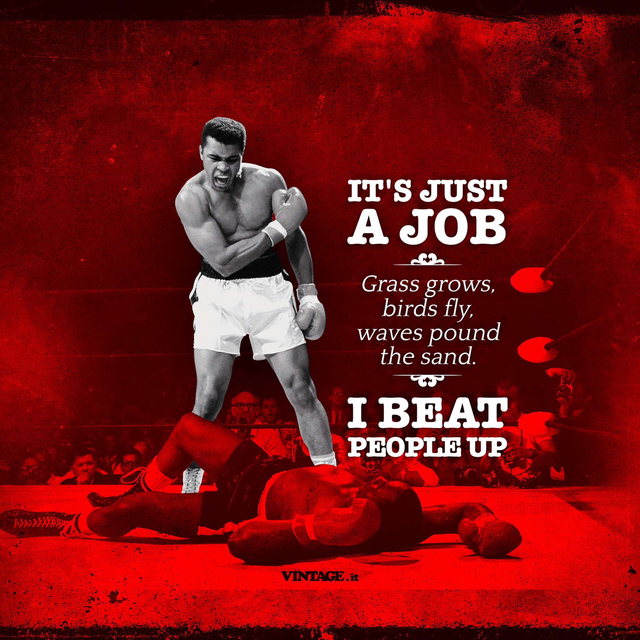 Muhammad Ali Its Just A Job Wallpaper Free Desktop Hd Ipad Iphone