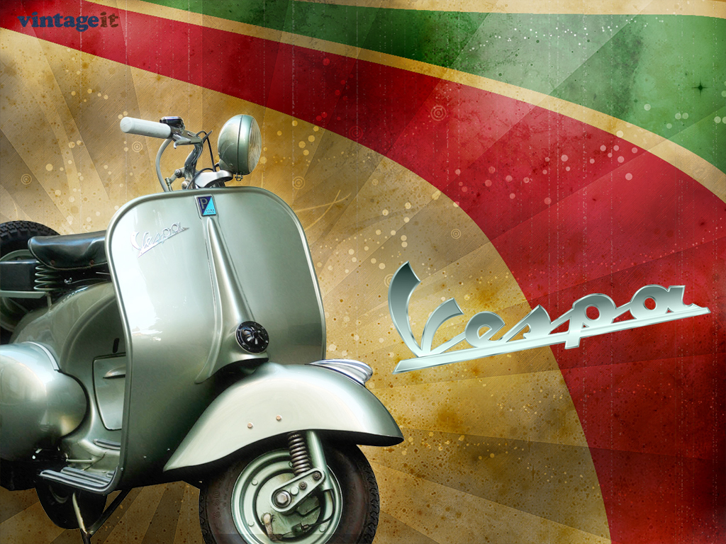 Vintage Vespa Scooters 1280x960 Wallpaper High Resolution Wallpaper
