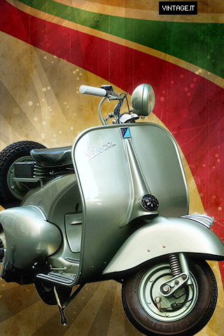 Vespa Vintage Wallpaper Free Desktop Hd Ipad Iphone