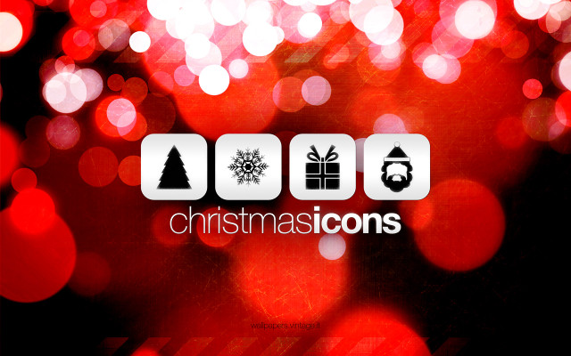 Christmas Icons wallpaper