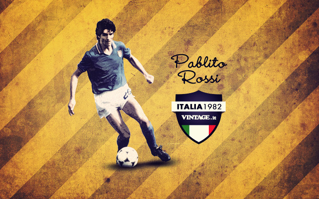 Paolo Rossi wallpaper (campioni collection)
