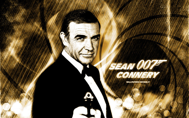 Sean Connery - James Bond wallpaper
