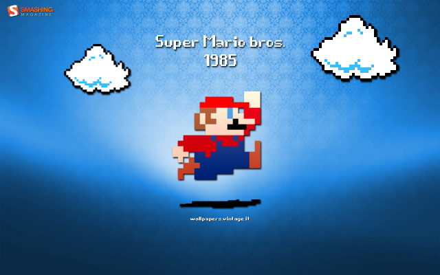 Super Mario bros. 1985 wallpaper