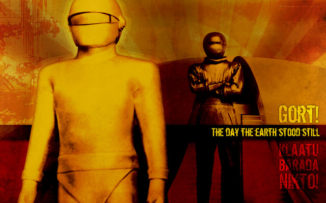 The day the Earth stood still wallpaper