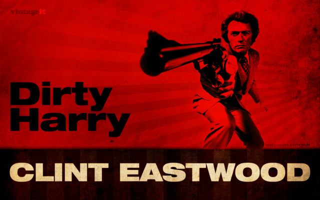 Dirty Harry - Clint Eastwood wallpaper