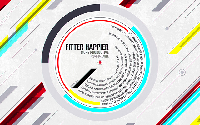 Fitter happier Radiohead wallpaper