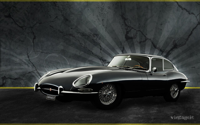 Jaguar E-type wallpaper