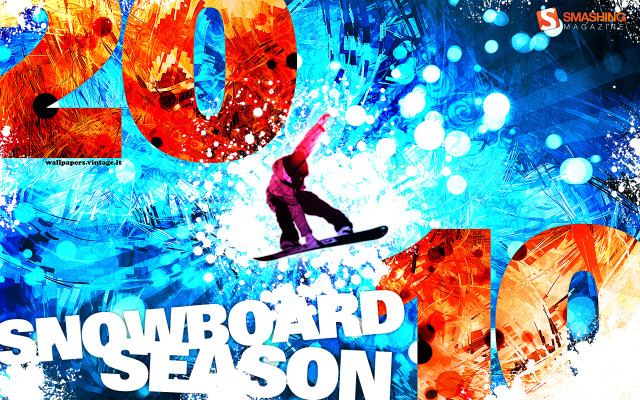Snowboard Season 2010wallpaper