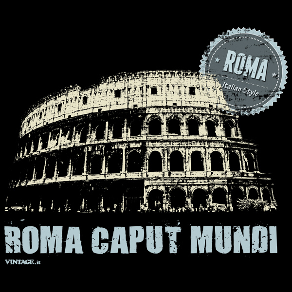Rome (Roma) t shirt - Cities Collection - Vintage t shirts ...